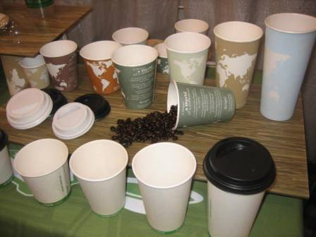 Eco Products cups and lids