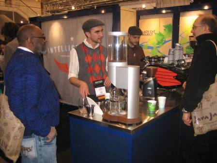 Intelligentsia baristas making their fabulous coffee