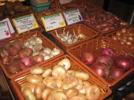 Some of the selection at the Downtown Farmstand