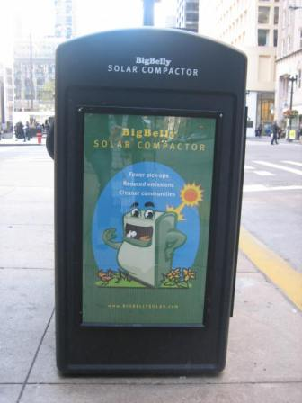 solar compactor side